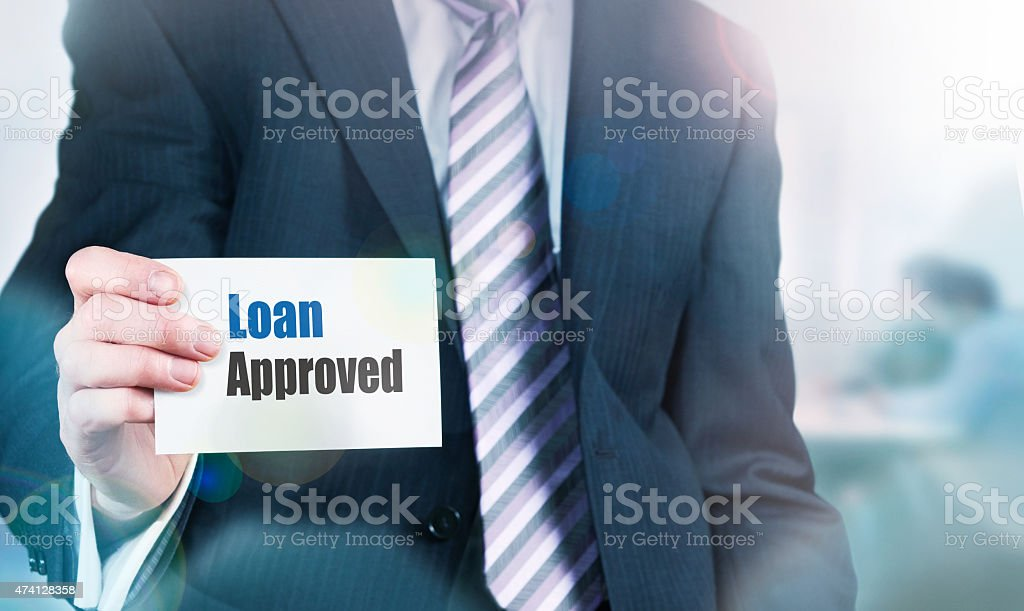 Loan Approval Concept stock photo