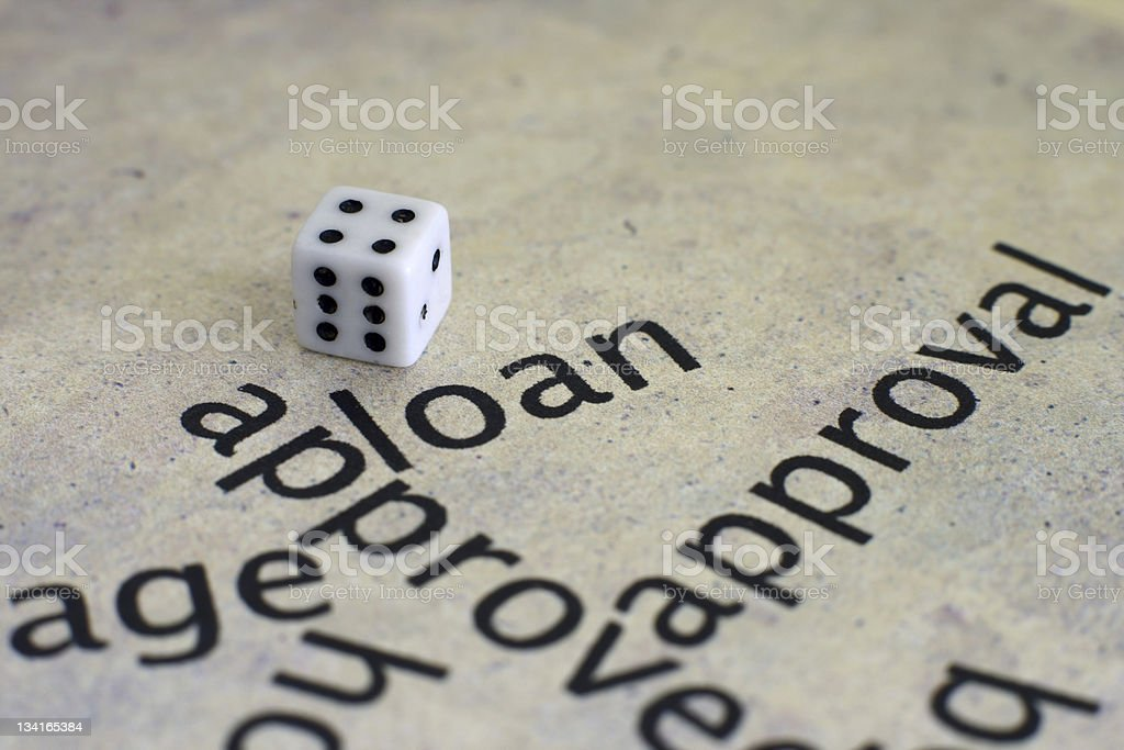Loan concept royalty-free stock photo