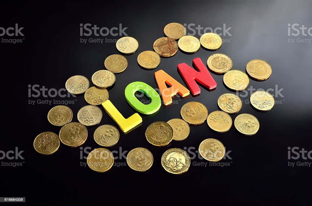 Loan concept stock photo