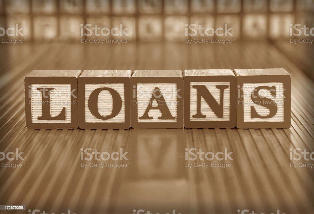 loans stock photo