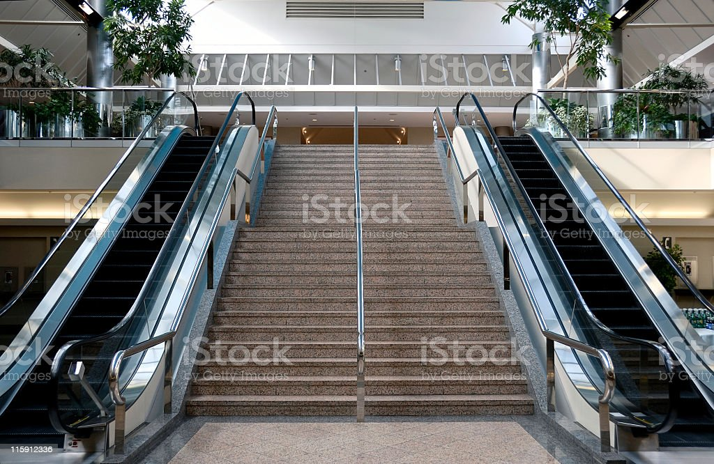 Lobby royalty-free stock photo