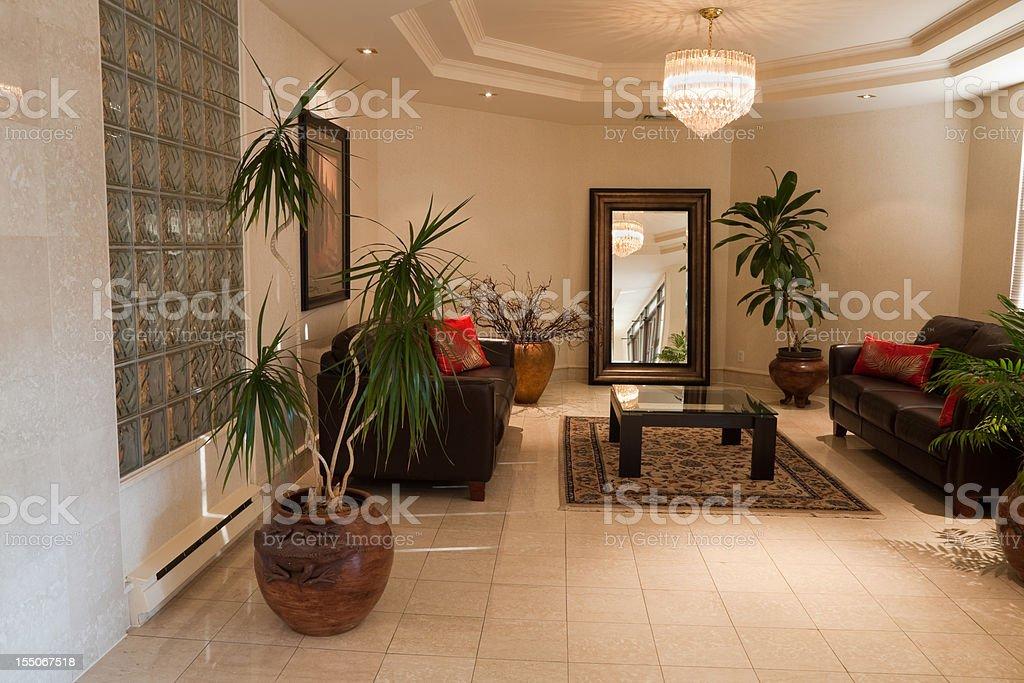 Lobby royalty-free stock photo