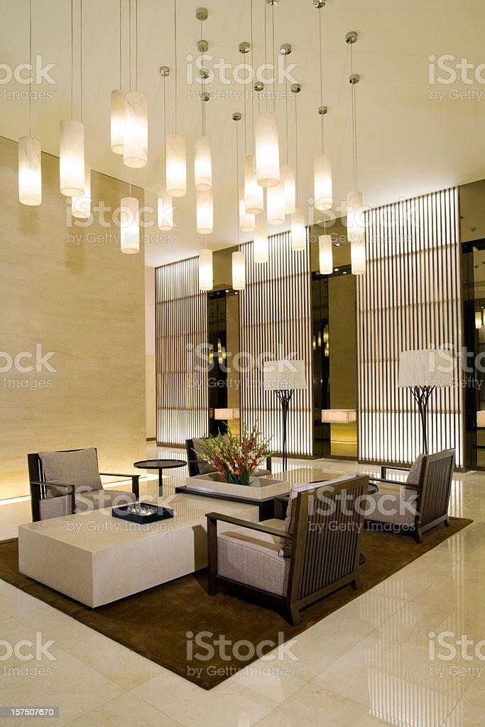 Lobby stock photo