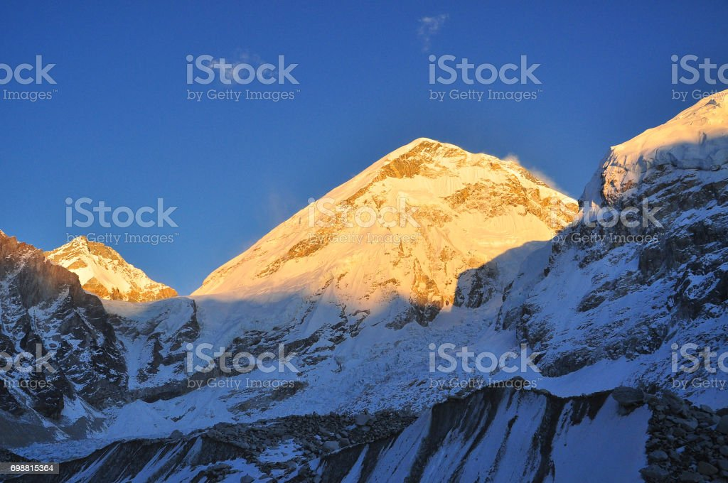 lobche and yellow of sunligh in morning stock photo