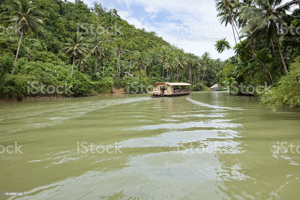 Loboc River royalty-free stock photo