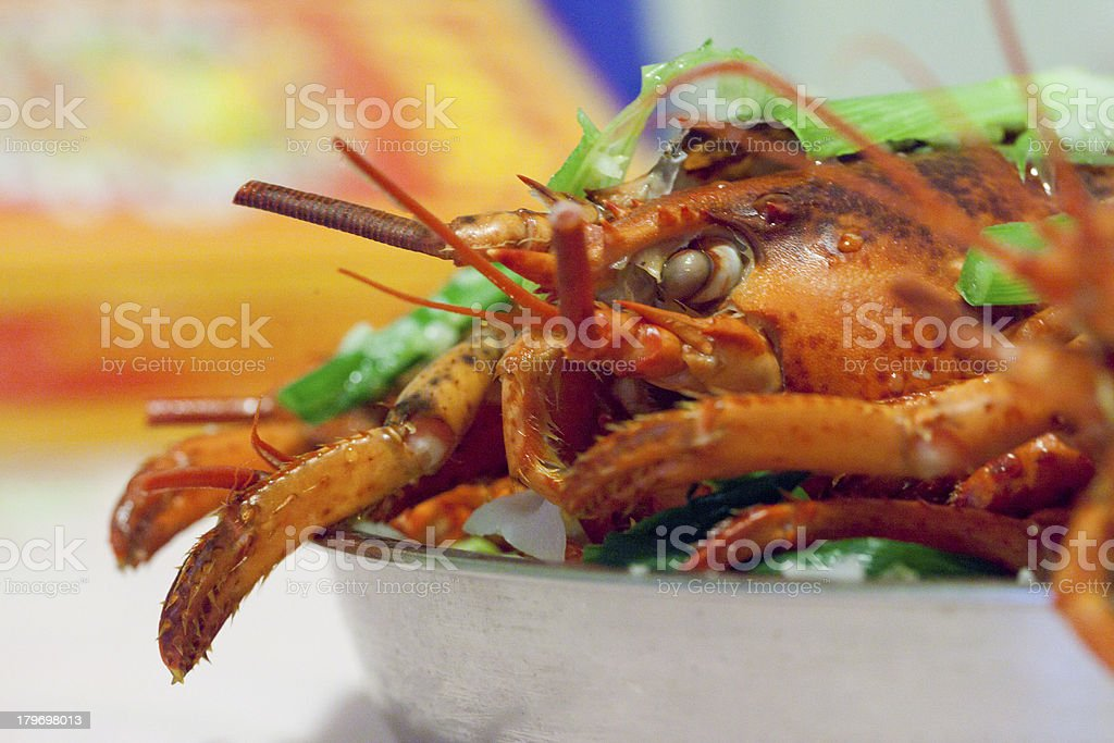Lobster Dinner royalty-free stock photo