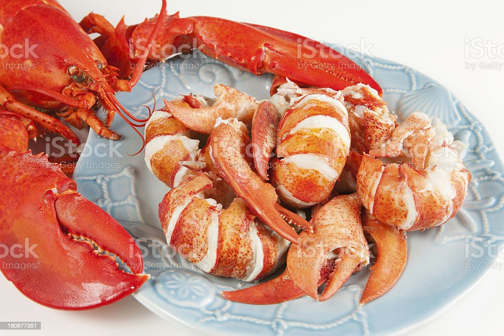 Lobster meat royalty-free stock photo