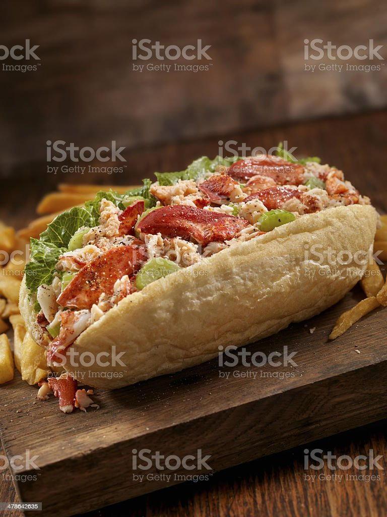 Lobster Roll stock photo