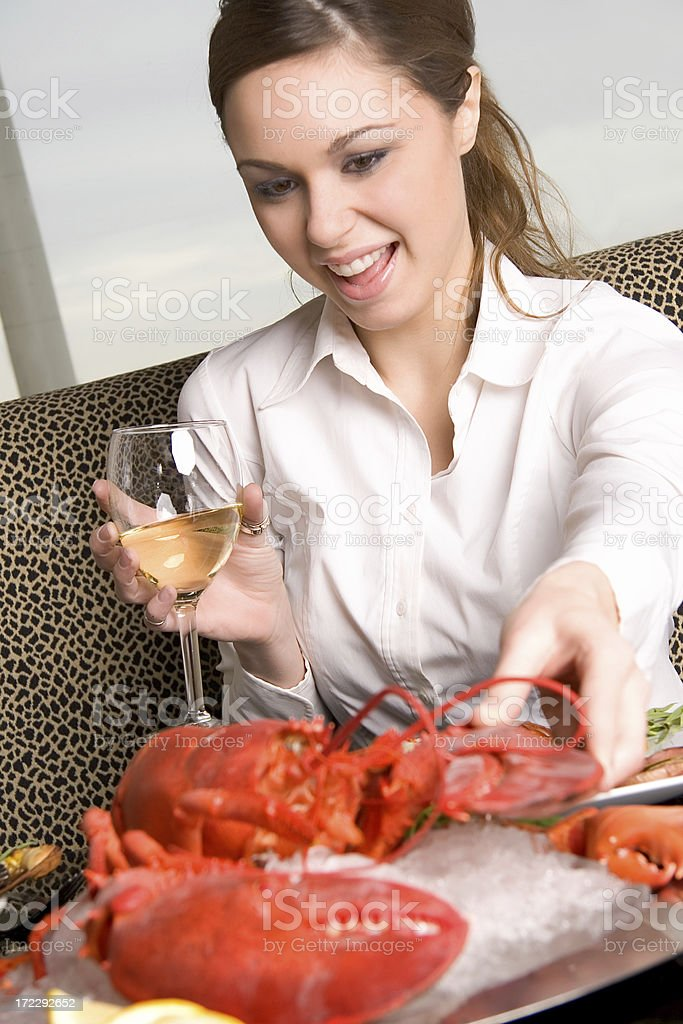 Lobster Surprise royalty-free stock photo