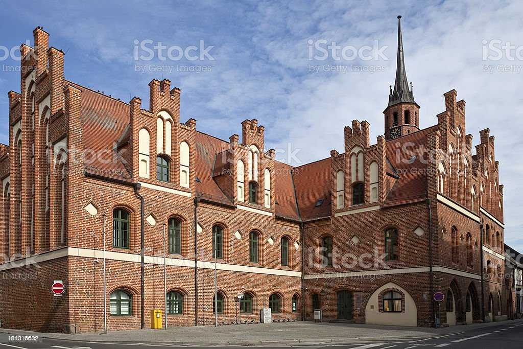 Local Court of Salzwedel royalty-free stock photo