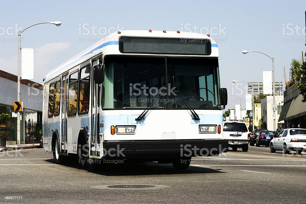 Local DASH Bus royalty-free stock photo