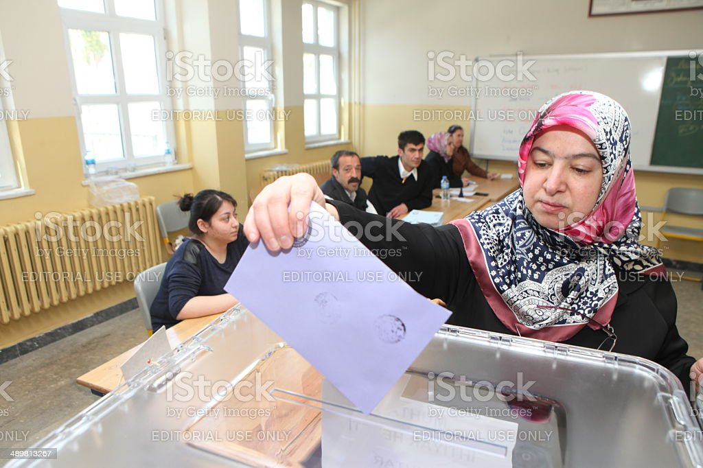 Local Elections in Turkey. stock photo