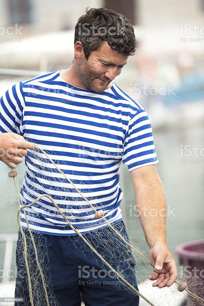 Local Fisherman stock photo