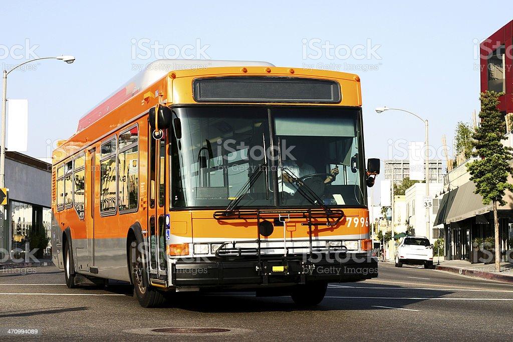 Local MTA Bus royalty-free stock photo