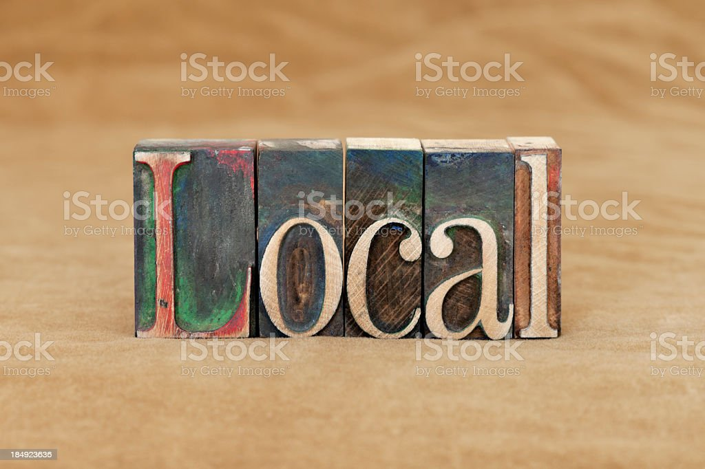 Local royalty-free stock photo