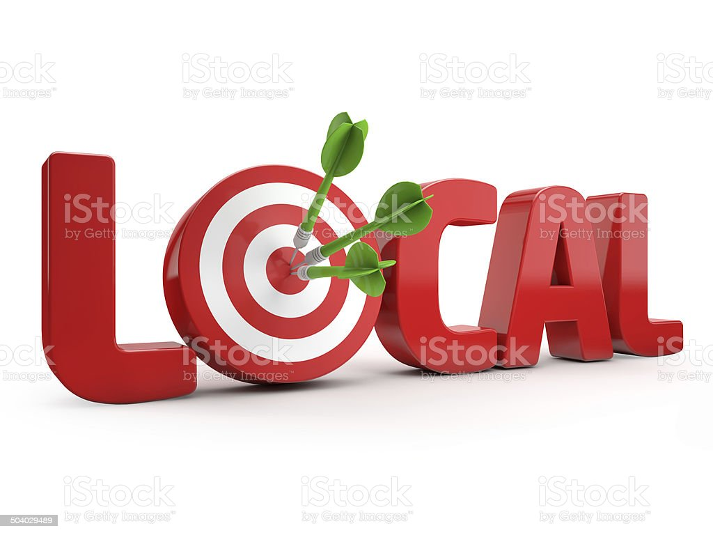 local search targeting stock photo
