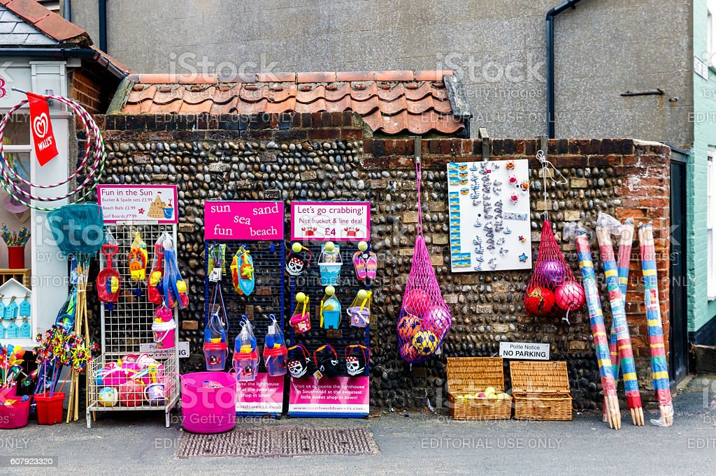 Local Shop in Southwold stock photo
