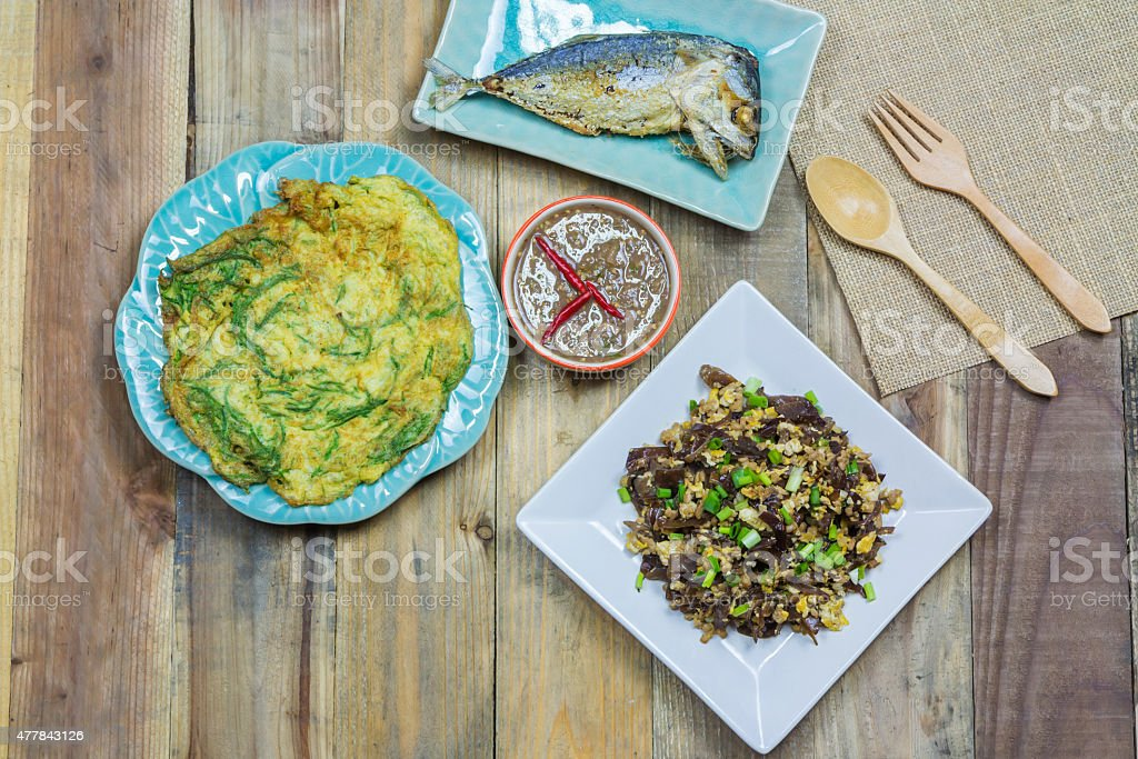 Local Thai foods royalty-free stock photo
