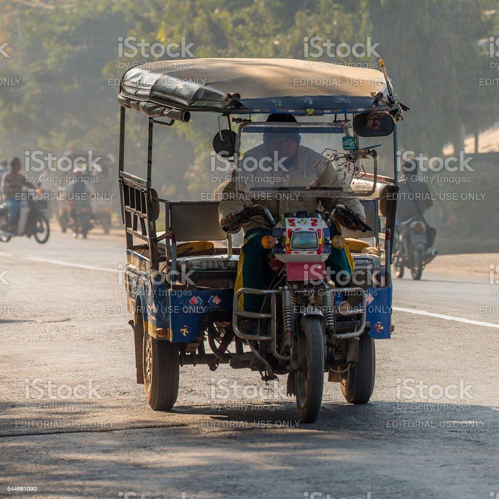 Local Transport - Myanmar stock photo