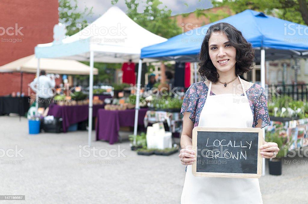 Locally Grown royalty-free stock photo