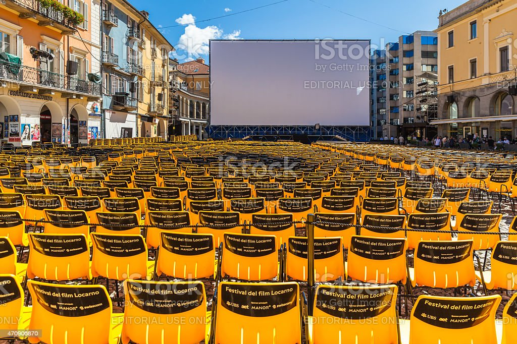 Locarno International Film Festival stock photo