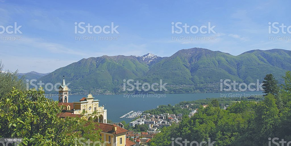 Locarno,Ticino Canton,Switzerland royalty-free stock photo