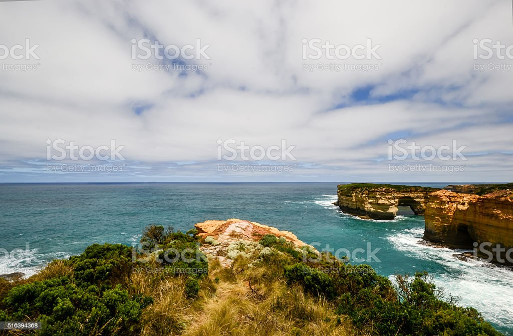 Loch ard gorge, Australia. stock photo