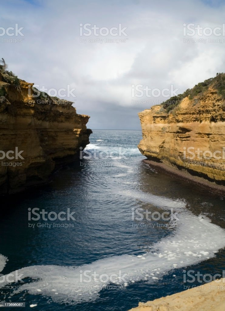 Loch Ard Gorge, Great Ocean Road royalty-free stock photo