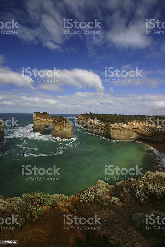 Loch Ard Gorge royalty-free stock photo