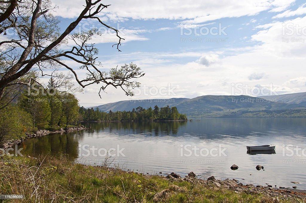 Loch Arkaig stock photo