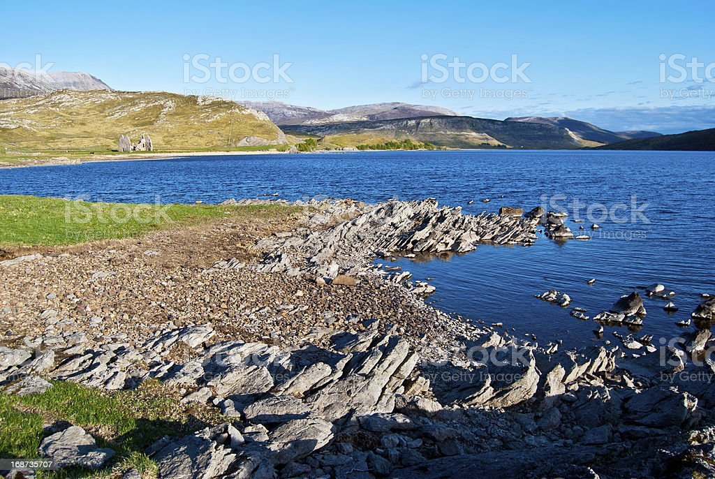 Loch Assynt royalty-free stock photo