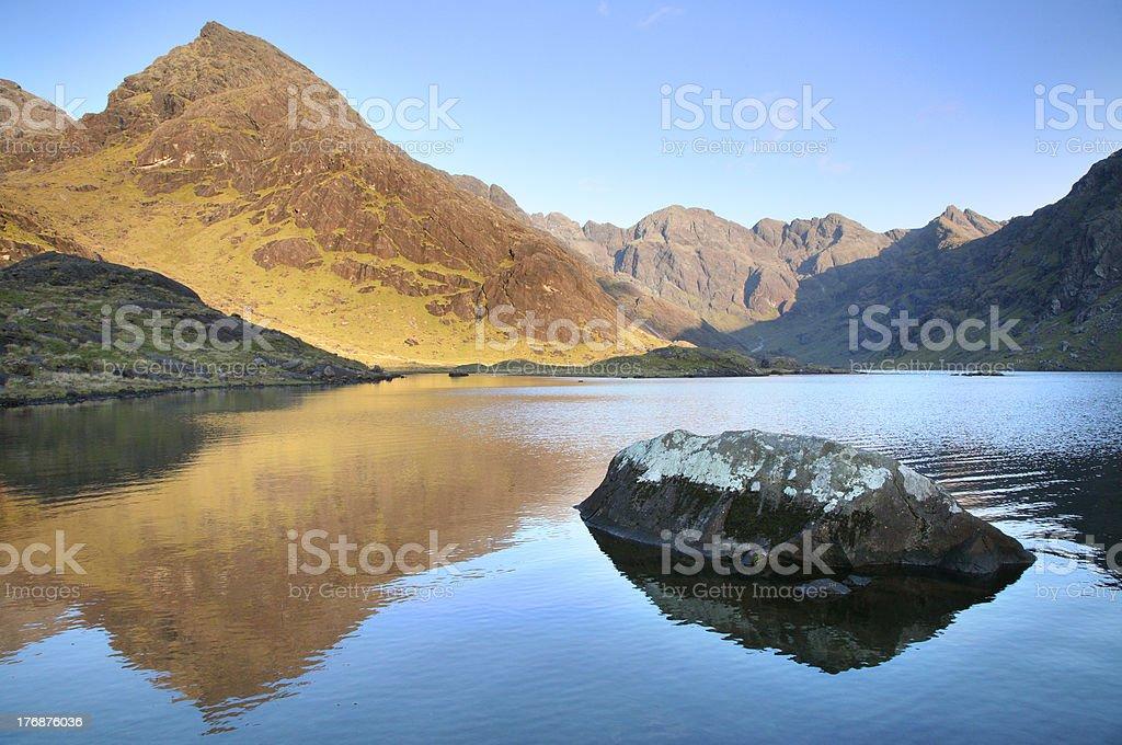 Loch Coruisk stock photo