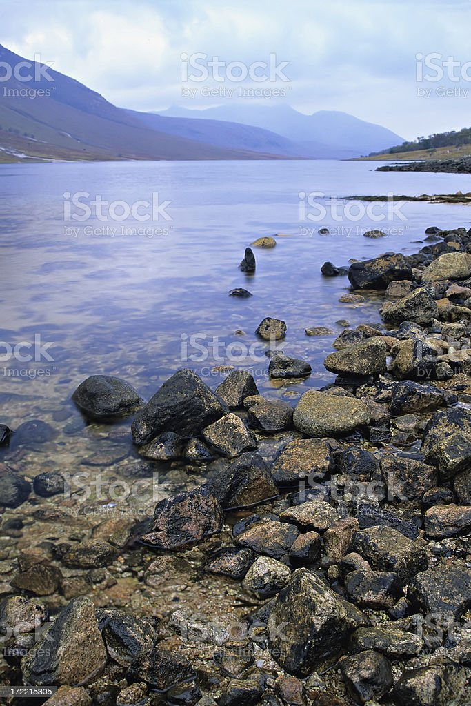 Loch Etive royalty-free stock photo