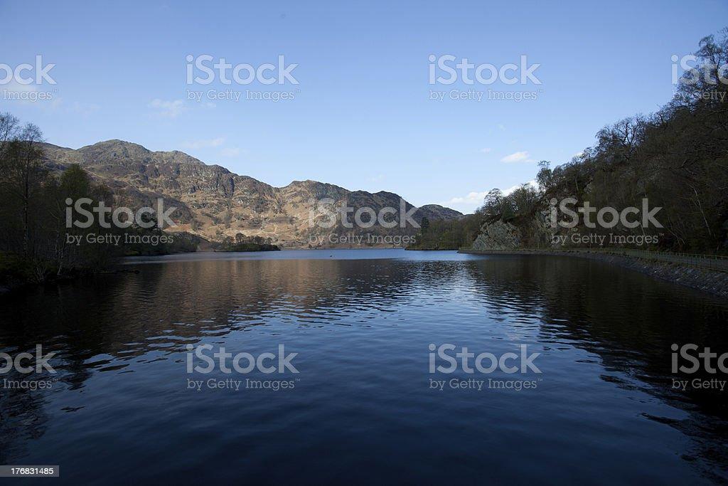Loch Katrine, Scotland Rob Roy country stock photo