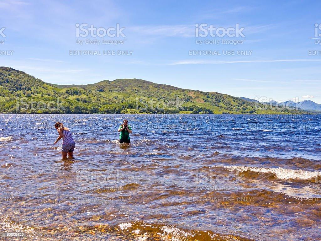 Loch Katrine, Scotland, Uk stock photo