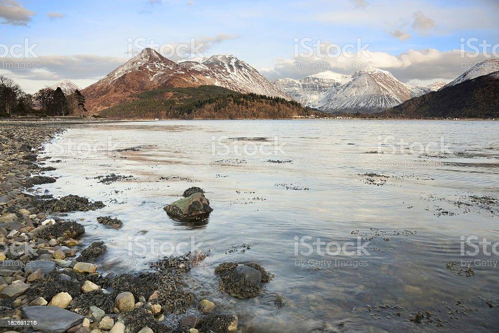 Loch Leven - Glencoe stock photo
