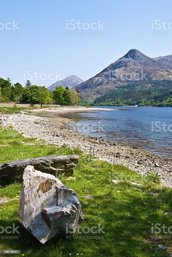 Loch Leven royalty-free stock photo
