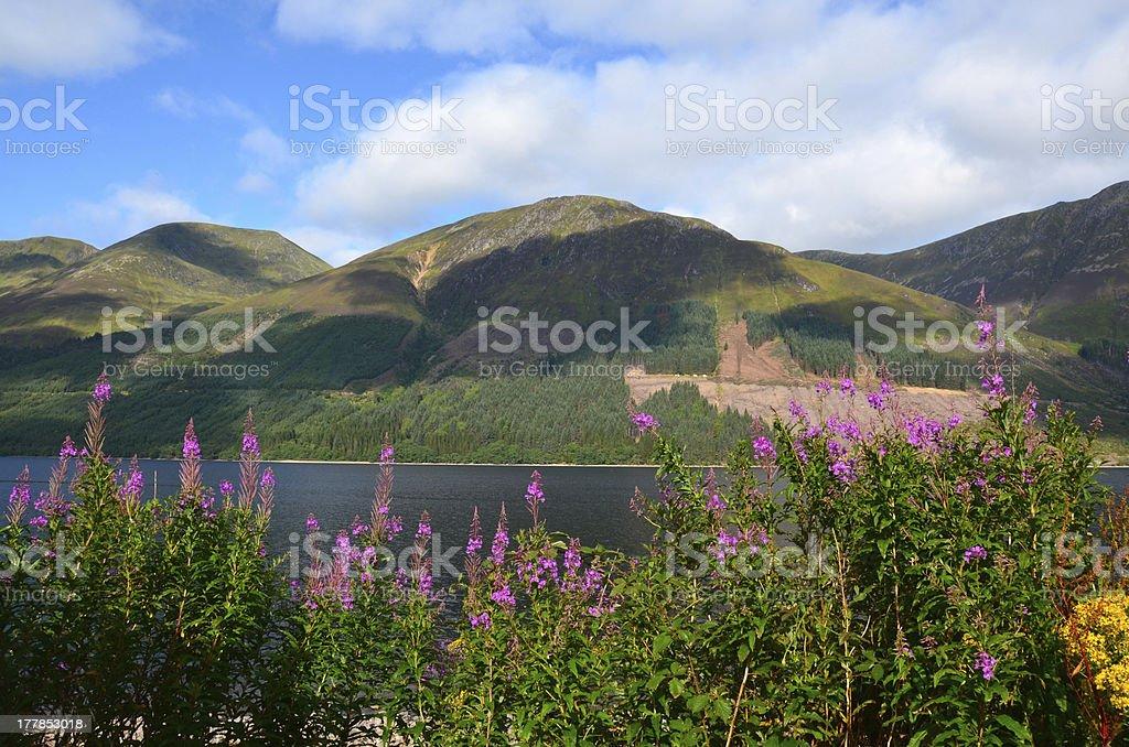 Loch Lochy, Lochaber royalty-free stock photo