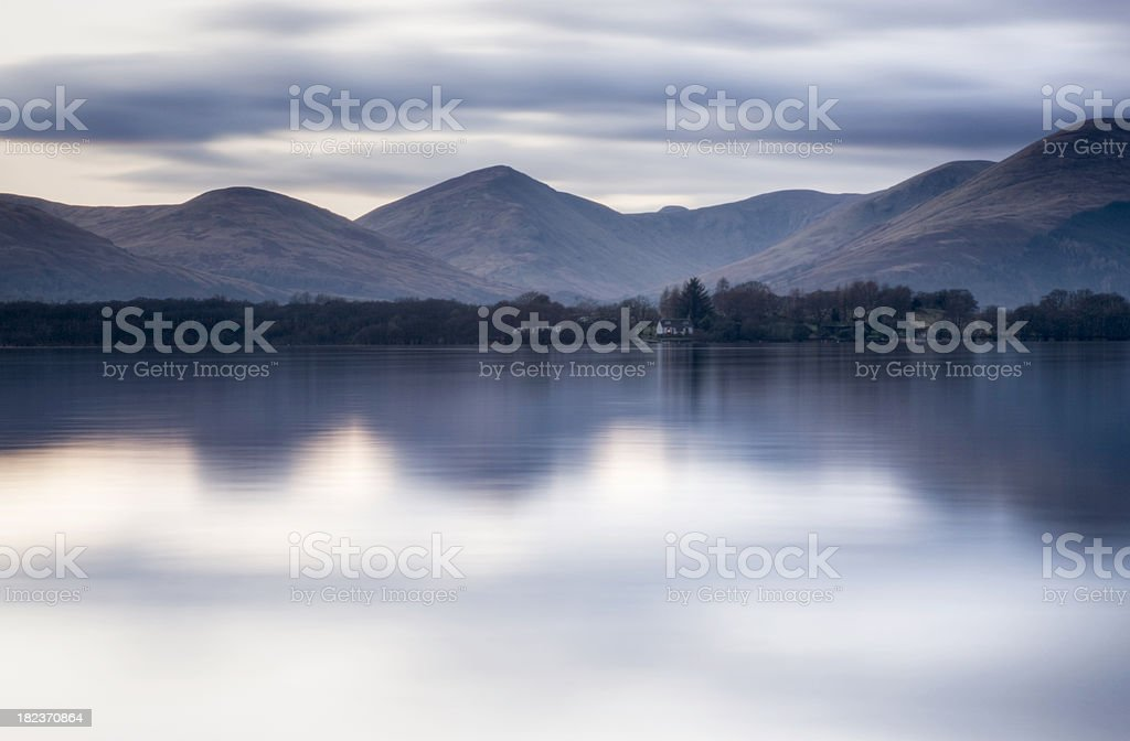 Loch Lomond Dusk royalty-free stock photo