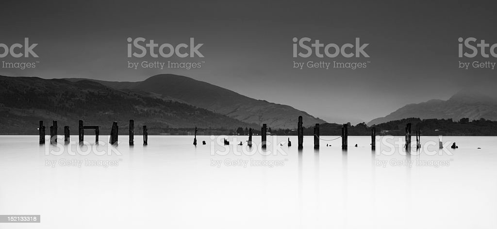 Loch Lomond royalty-free stock photo
