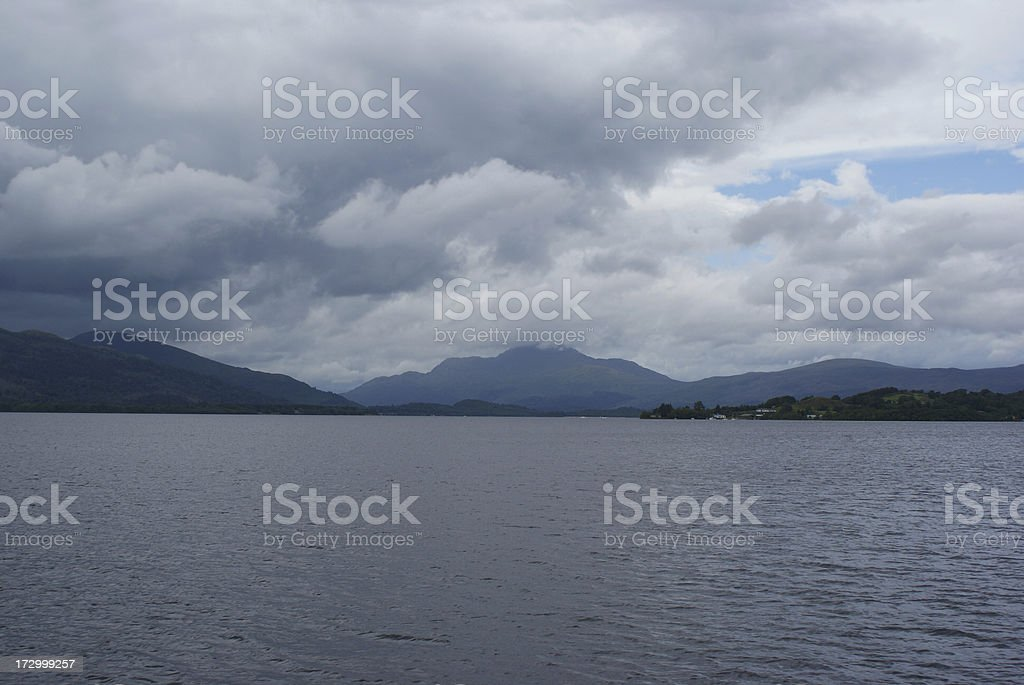 Loch Lomond royalty-free stock photo