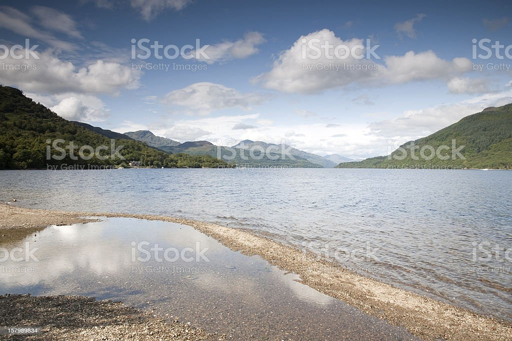 Loch Lomond; Scotland royalty-free stock photo
