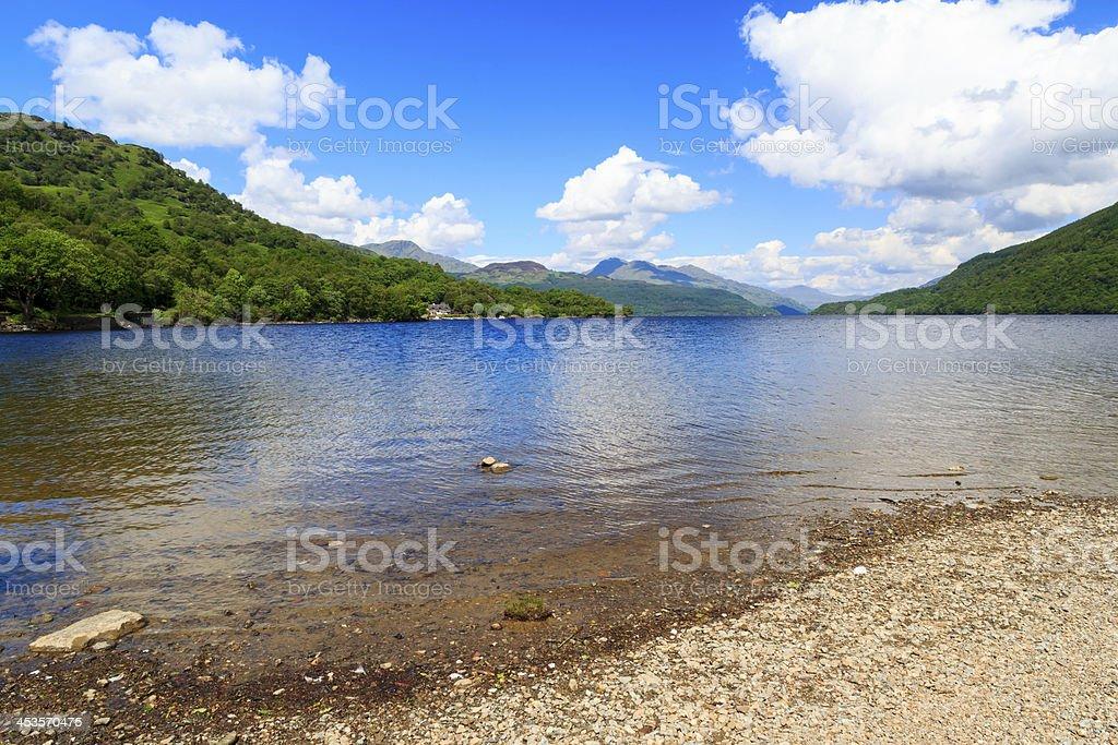 Loch Lomond Écosse photo libre de droits