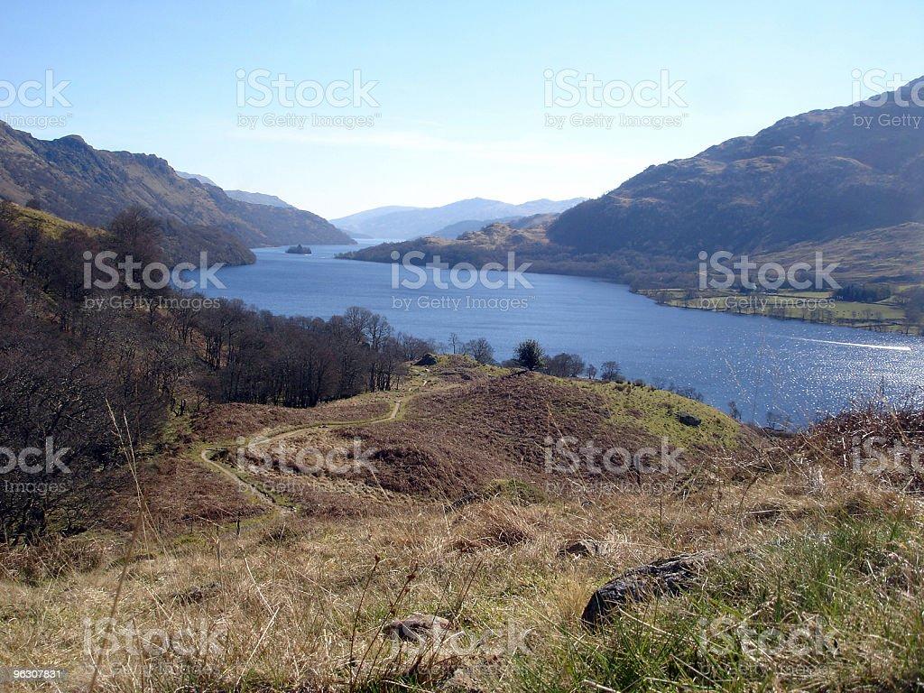 Loch Lomond, Scotland royalty-free stock photo