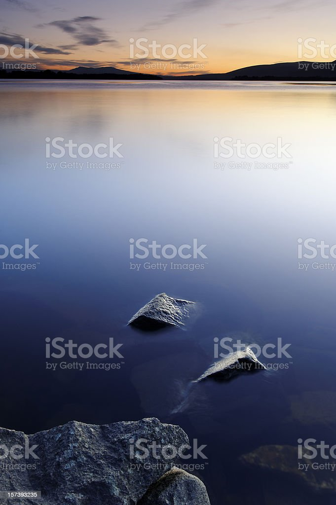 Loch Lomond Sunset royalty-free stock photo