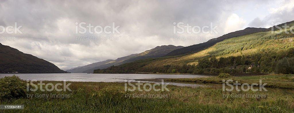 Loch Long royalty-free stock photo