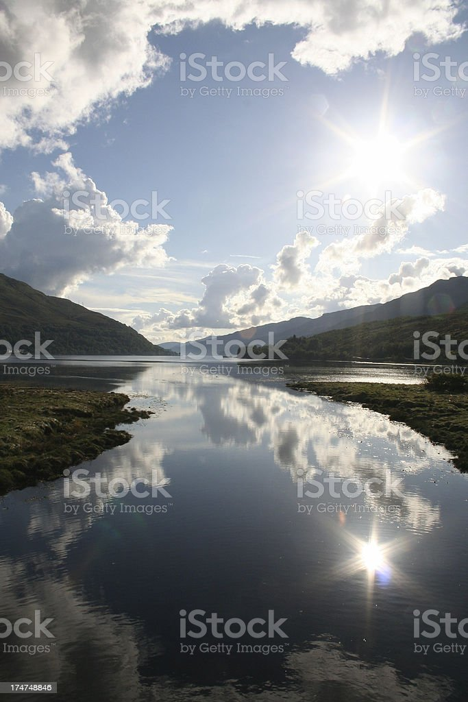 Loch Long royalty-free stock photo