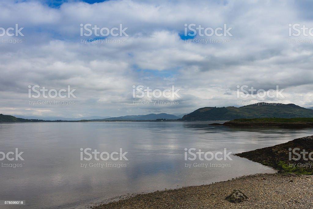 Loch Long stock photo