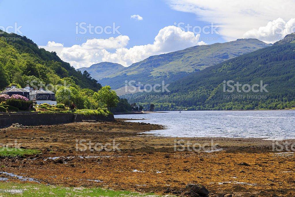 Loch Long Écosse photo libre de droits