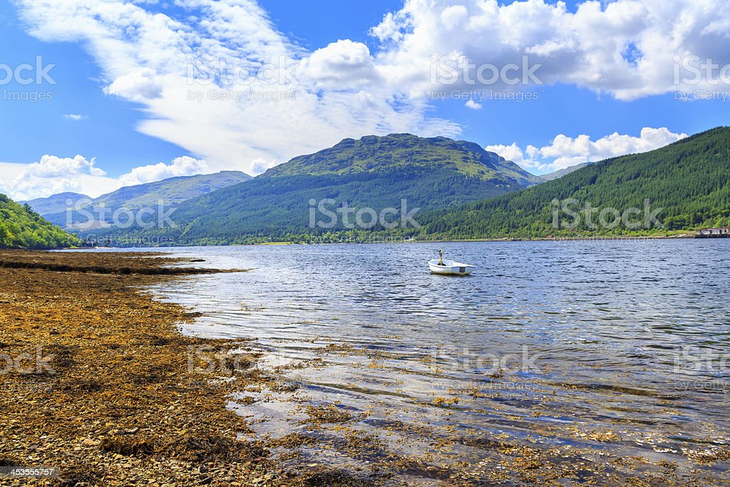 Loch Long Écosse photo libre de droits